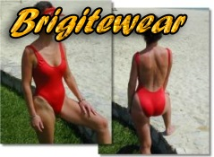 Stylish and sexy low cut one piece suits to make you look like a Malibu lifeguard