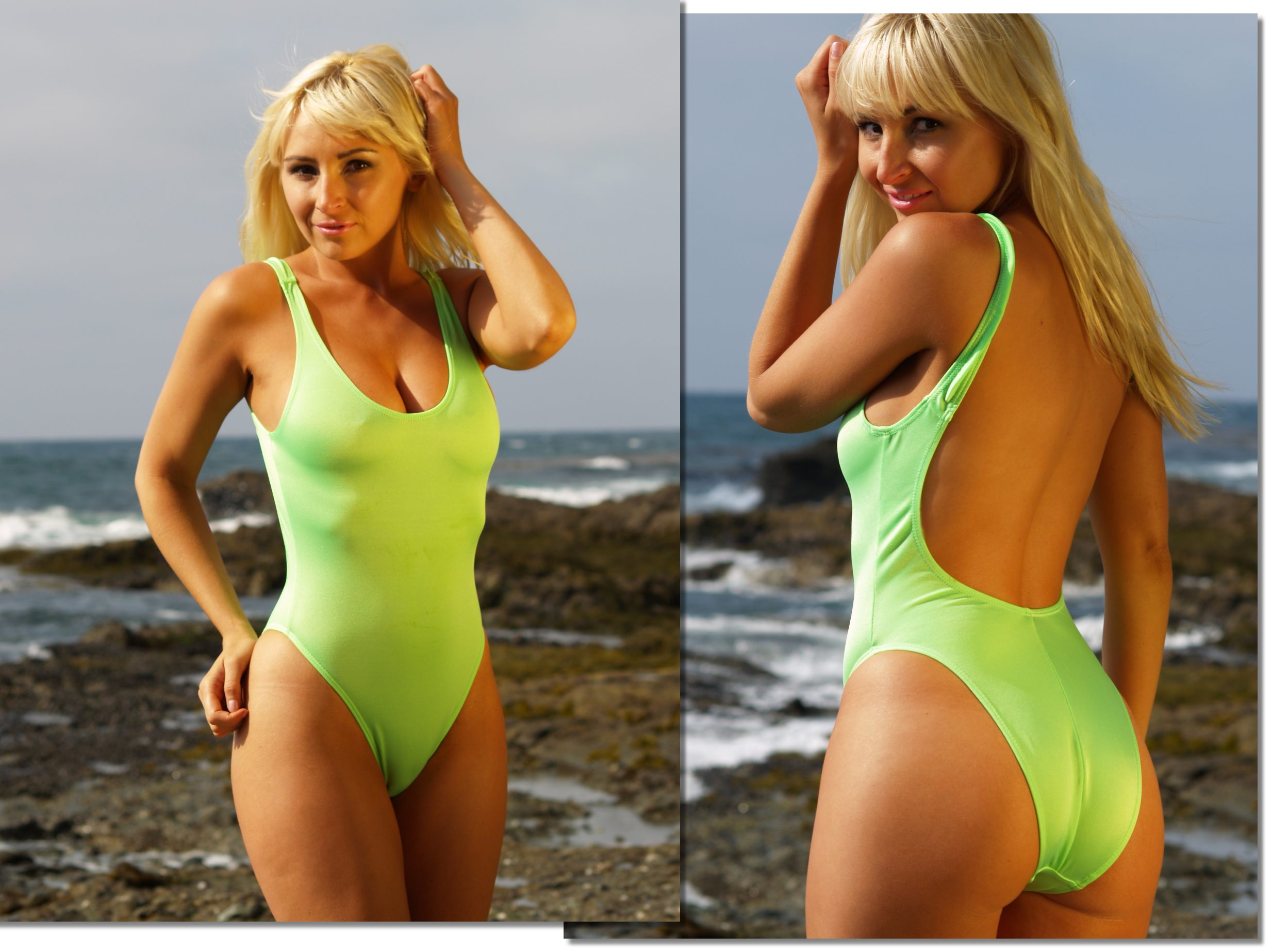 Buy Baywatch styled women's one piece swimwear | Brigitewear