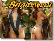 Exciting sheer one piece and tan through swimsuits from Brigitewear