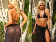 Sexy Long Sarong cover-ups by Brigitewear to go with your thong swimsuits, topless swimwear or beach accessory