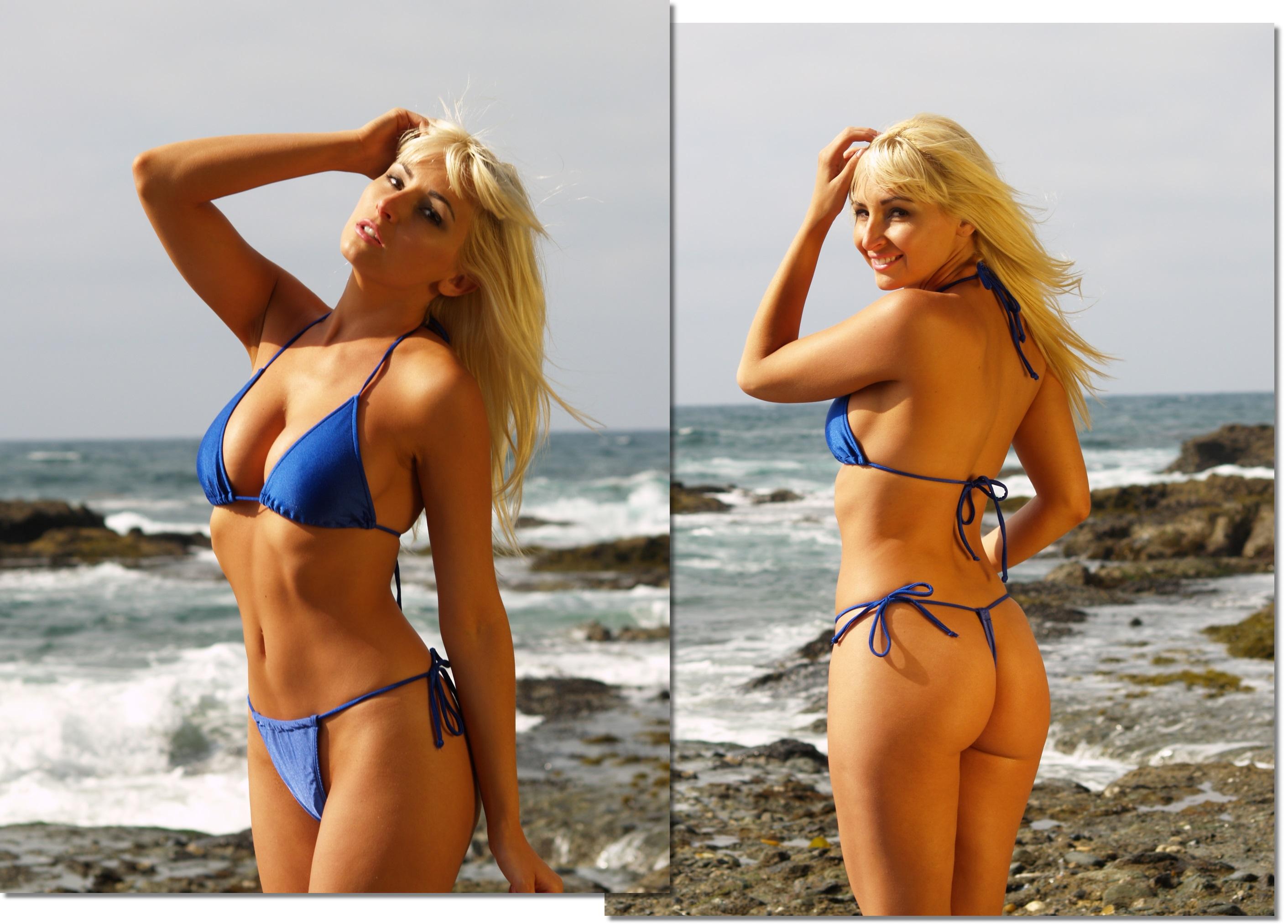 1 string bikini