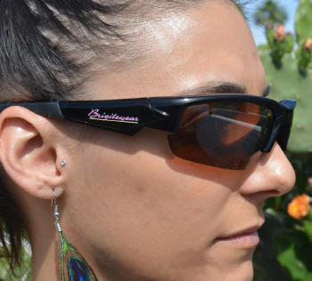 Brigitewear Black Sunglasses