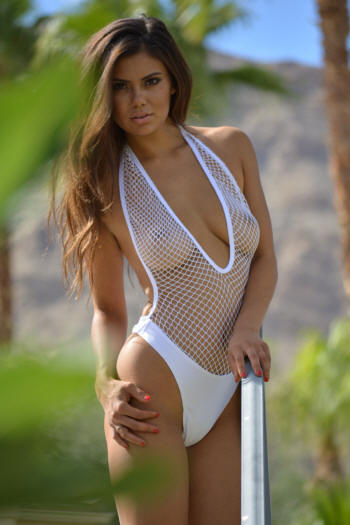 see through thong one piece swimsuit
