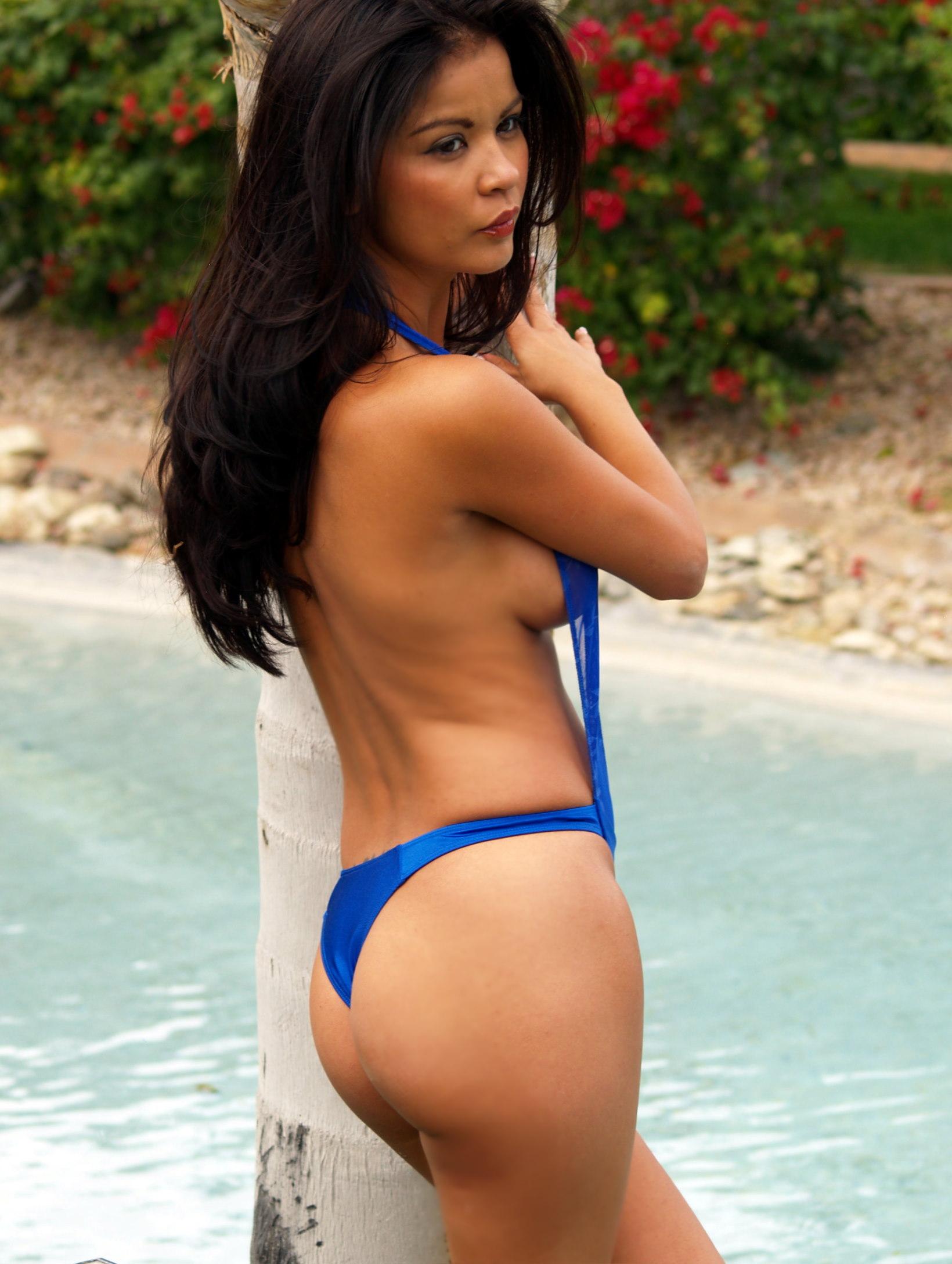 Sheer see through thong bikini pics — pic 14