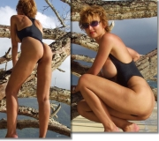 Topless swimsuits one piece by Brigitewear