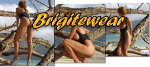 Sexy, seductive one piece topless swimsuits from Brigitewear