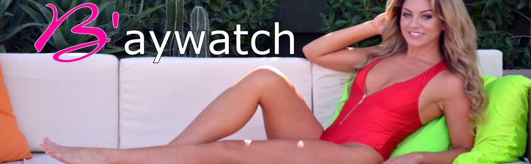 Buy Baywatch style swimsuit the original Baywatch bathing suit and the new Zippered Baywatch swimwear by Brigitewear