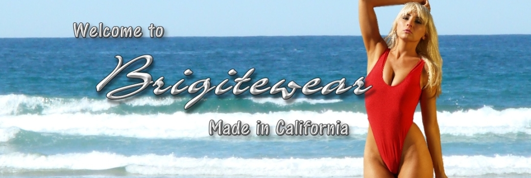 Brigitewear sexy swimwear made in California