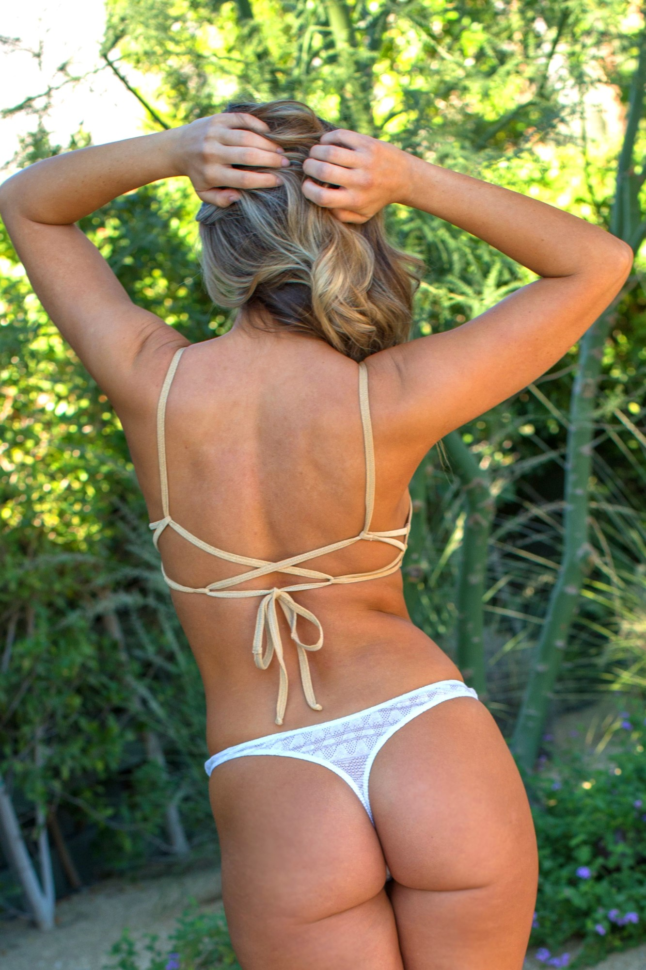 da9c3d1f83 Desert Gold Bikini Swimsuit Ensemble by Brigitewear