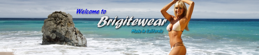 brigitewear swimwear, swimsuits bathing suits and accessories made in california
