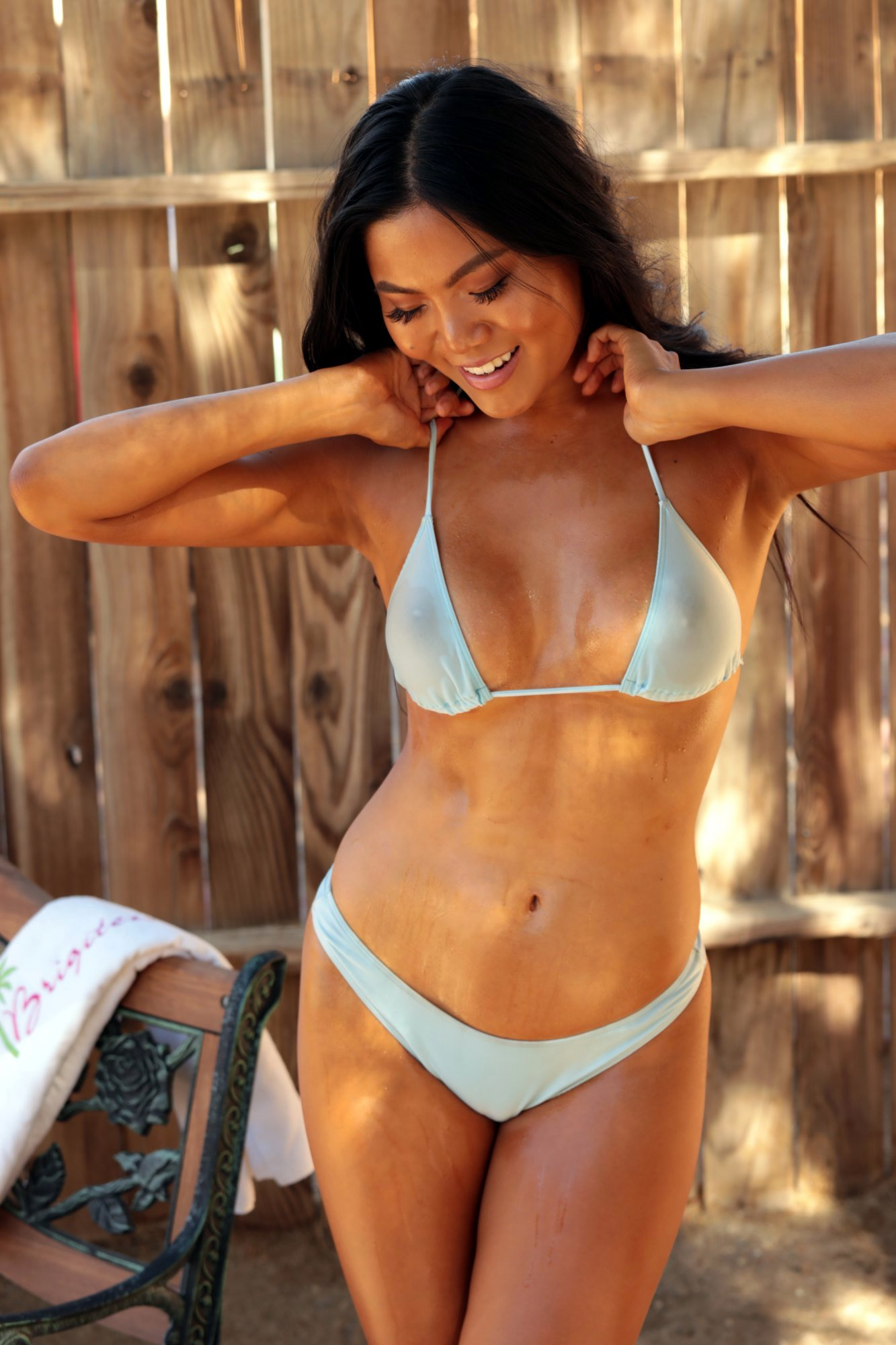 Wet Bikini Pics