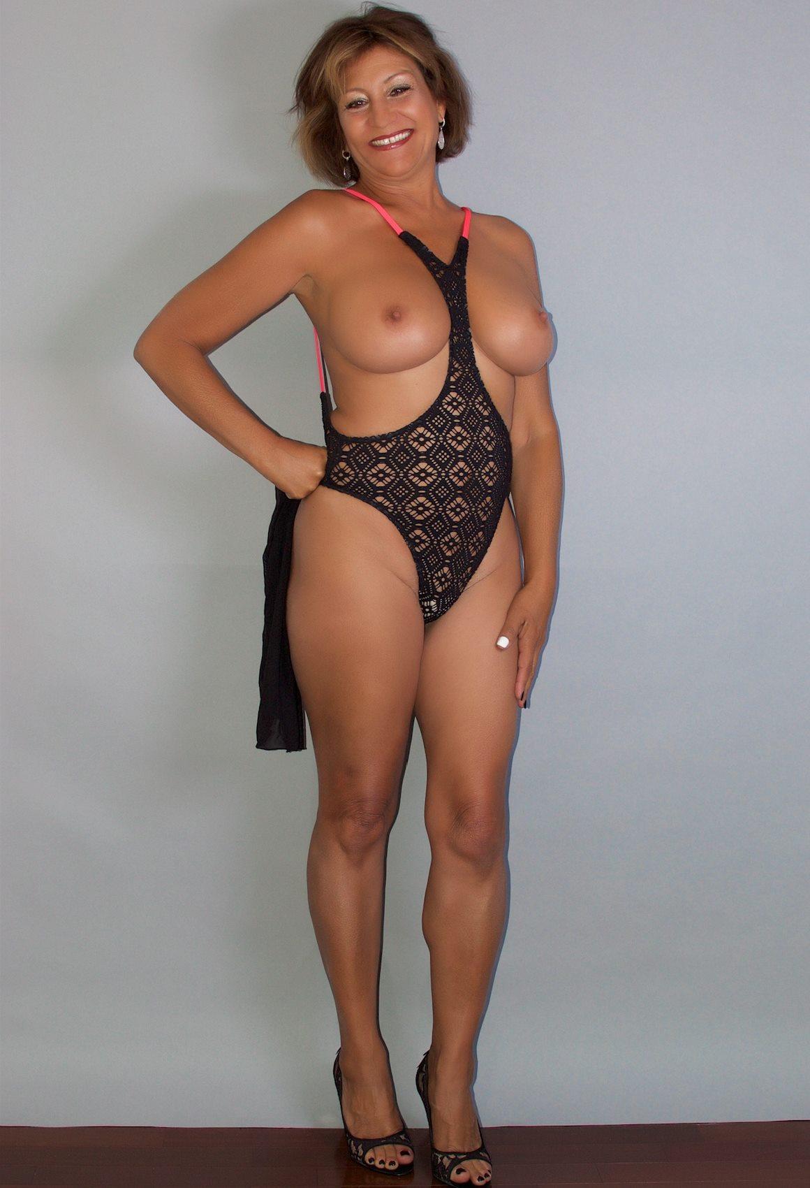 Plunge thong bikini