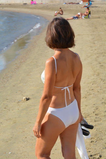 The Diamond bathing suit with Rio bottom
