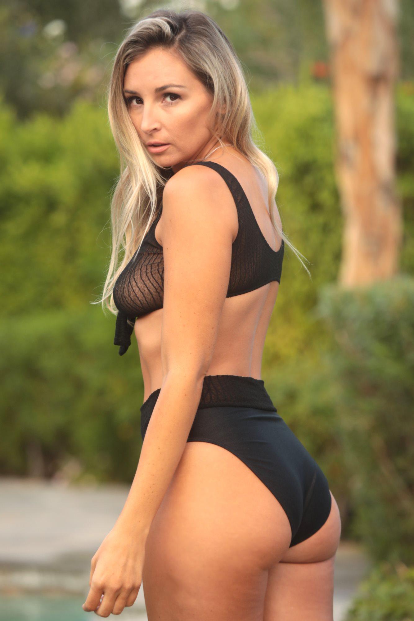 17295910358f8 Cheeky & High Waist bikini swimsuit bottoms by Brigitewear