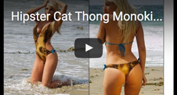 Video Hipster Cat Thong