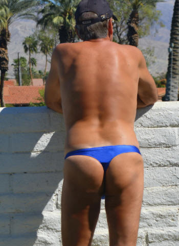Low Rider Thong Bathing Suit For Men By Brigitewear