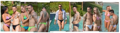 Buy men's thong, rio bottom and speedo style swimsuits made in California by Brigitewear