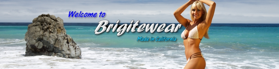Buy sexy women's swimwear cover-ups and accessories by Brigitewear made in California