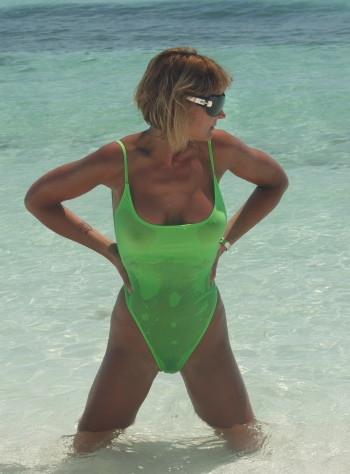 buy thong one piece bathing suits for women from Brigitewear